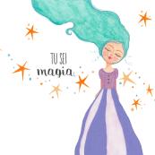 """Collana illustrata """"Tu sei magia"""""""