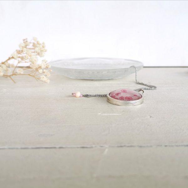 Collana con illustrazione sakura