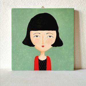 Amélie Poulain, ritratto fatto a mano